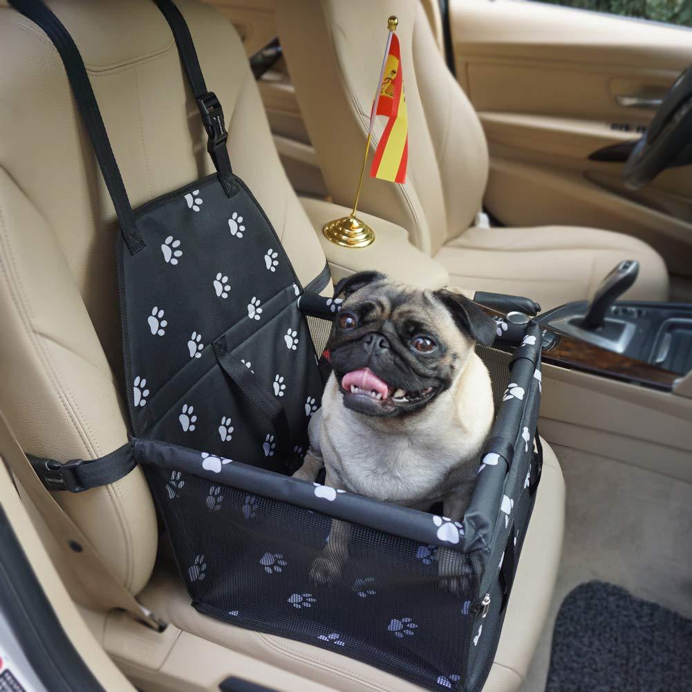 Felicidad Asiento del Coche de Seguridad para Mascotas Perro Gato Plegable Lavable Viaje Bolsas - se