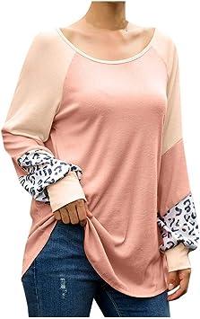 Chemise Femme Chemise Femme Blouse Femme Tee-Shirt Femme Casual Point Print Ruffles Button Ceinture /à Manches Longues