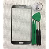 Samsung Galaxy Note 2 II N7100 Touch Screen Glass Digitizer Lens Replacement Repair Part - Gray