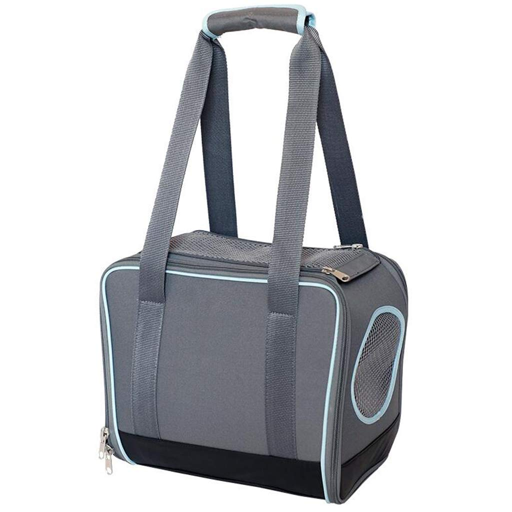 FJH Cat Bag Cat Cage Portable Pet Bag Out Dog Bag Small Dog Teddy Cat Box Cat Backpack