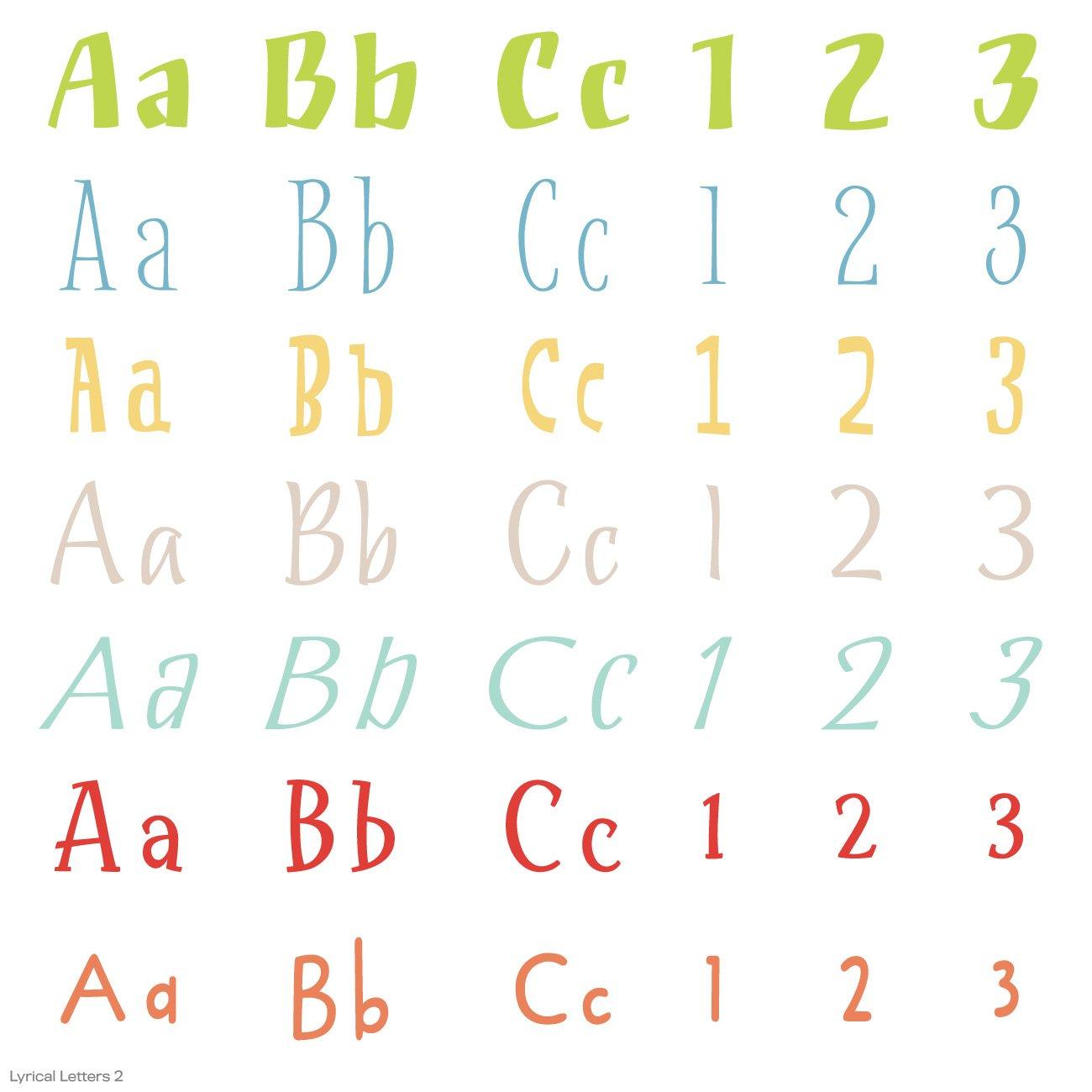 Cricut Lyrical Letters 2 Cartridge by Cricut (Image #3)