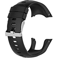 QGHXO Band for Suunto Spartan Trainer Wrist HR, Soft Silicone Wristband Strap with Metal Buckle for Suunto Spartan…