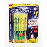 Rocket Copters The Amazing Slingshot LED Helicopters(2 Pack)