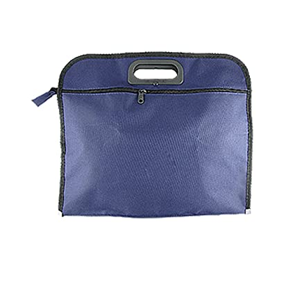 6fc2e89c23a0 uxcell Nylon File Folder Document Bag Organizer Portfolio