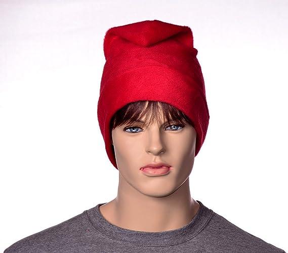 40ea8aa60c2 Amazon.com  Red Fleece Phrygian Cap Liberty Freedom Hat  Handmade