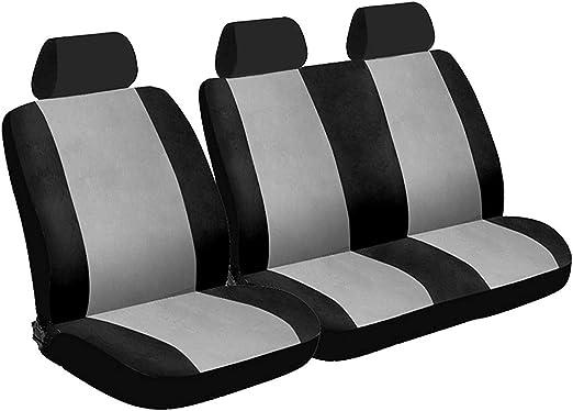 RENAULT TRAFIC 2010 ON Grey Van Seat Covers 2+1 LWB MWB SWB 100/% WATERPROOF