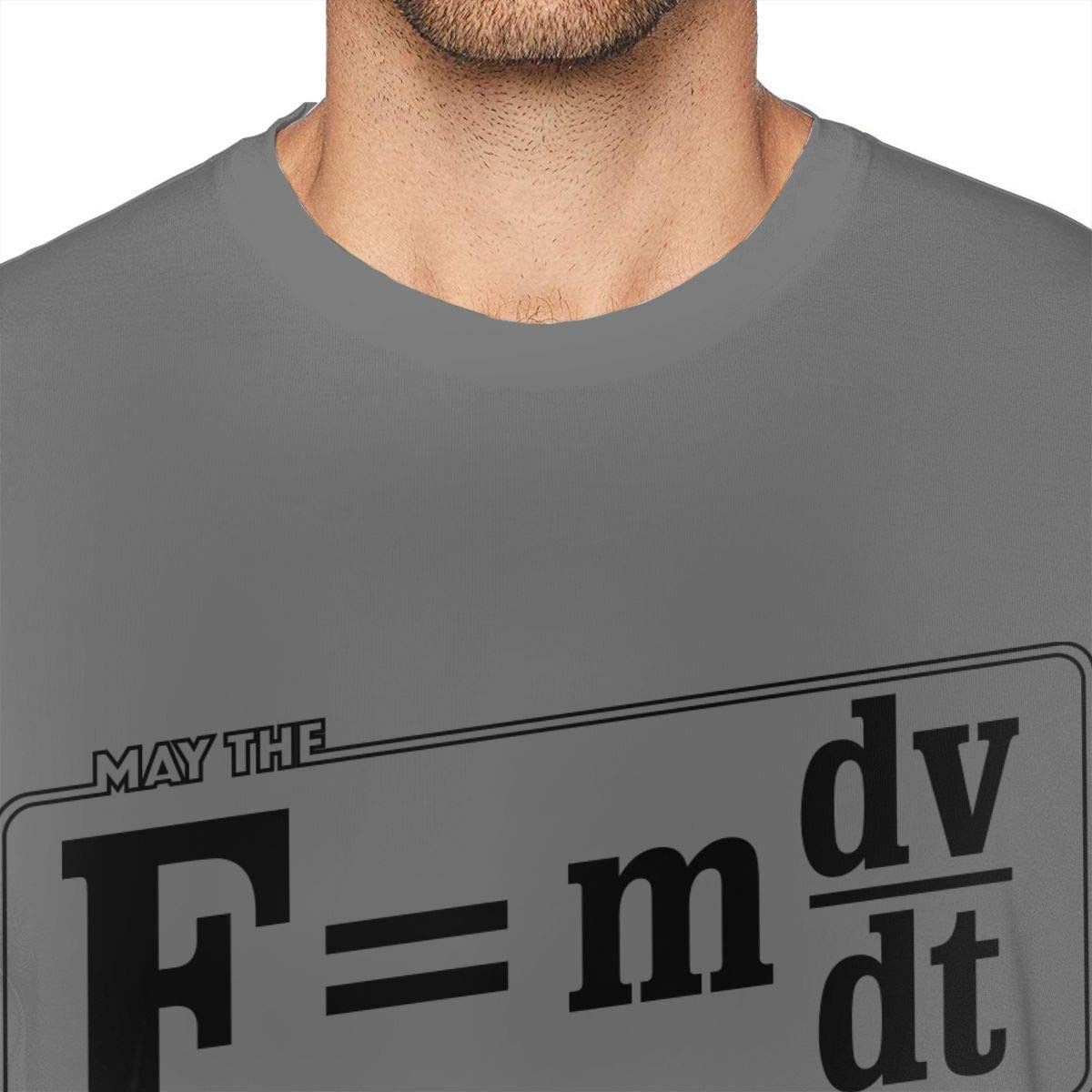 Be with You Mens Shirt Short Sleeve T-Shirt ZlTRNNc May The F=mdv Dt Casual Shirt for Men Teenagers