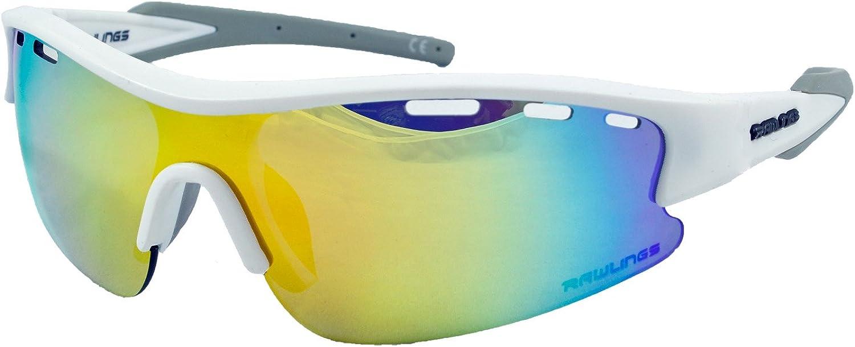 RY 107 Black//Green Kids/'-Youth Baseball Softball Sunglasses Rawlings RY107