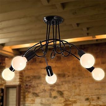 Vintage Modern Larsure Iluminación de techo Lámparas de ...