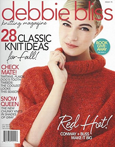 Debbie Bliss Knitting Magazine Vogue Fall Autumn 2015 28 Patterns Sweater Scarf