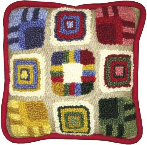 MCG Textiles Patchwork Pillow Needle