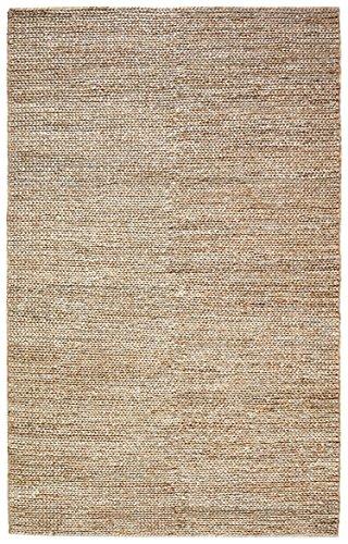 Stone & Beam Transitional Braided Jute Rug, 5' x 8', Sand