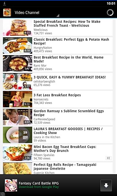 Amazon Com Breakfast Recipe Collections Appstore For Android