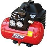 Compresor de aire Fiac Hobby Easy 1100 portátil con depósito 6 Lt Con 0,3