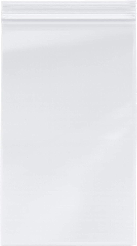 "Plymor Zipper Reclosable Plastic Bags, 2 Mil, 6"" x 10"" (Case of 1000)"