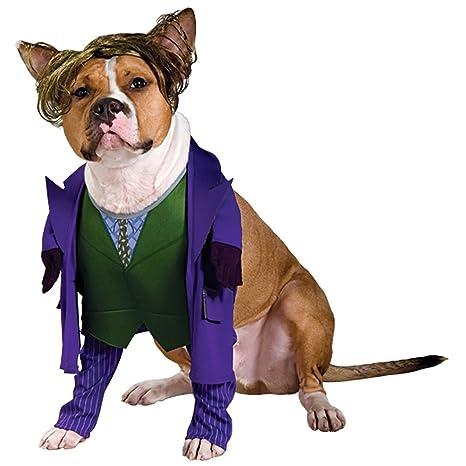 Amazon.com: Joker de Batman disfraz de perro para perros XL ...