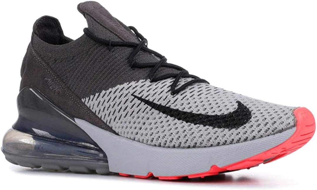 Nike Mens Air Max 270 Running Shoes 9.5 M US, Atmosphere Grey Black