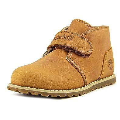 aa0b937696 Timberland Toddler Pokey Pine A19YE Nubuck Leather Boot Wheat-Wheat-4
