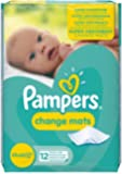 Pampers Change Mats - Pack of 12 Mats