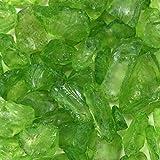 Wholesale Decor Koyal Wholesale Centerpiece Vase Filler Decorative Crushed Glass, 4.5-Pound, Lime Green