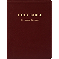 Text Only Holy Bible Recovery Version (no footnotes)