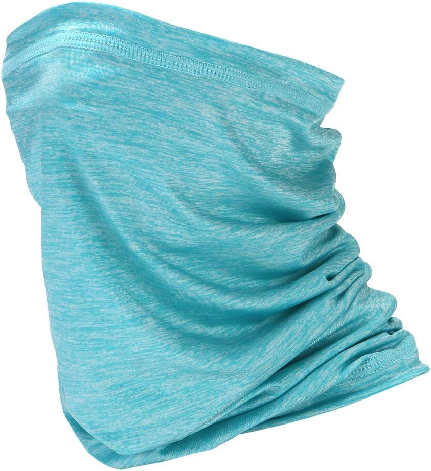 docooler Sciarpa Estiva Sciarpa Protettiva Solare Ciclismo allaperto Fazzoletto da Collo Manica a Collo Traspirante Versatile Anti-Polvere e Anti-Goccia Sciarpa al Collo