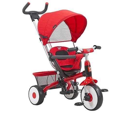 ZXUE Bicicleta Multifuncional del Triciclo del bebé del ...