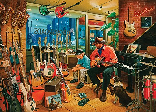 COBBLE HILL Crossroads Music Store Jigsaw Puzzle (1000 Piece)