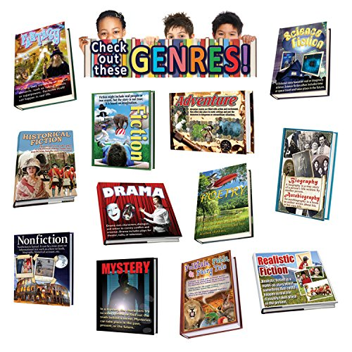 Edupress Literary Genres Bulletin Board (EP62292) by Edupress
