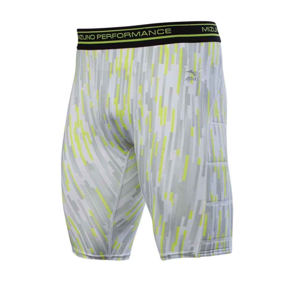 Mizuno Boy 's Breaker Sliding Short 350618 B074BY5ZF8 Large|グレー グレー Large