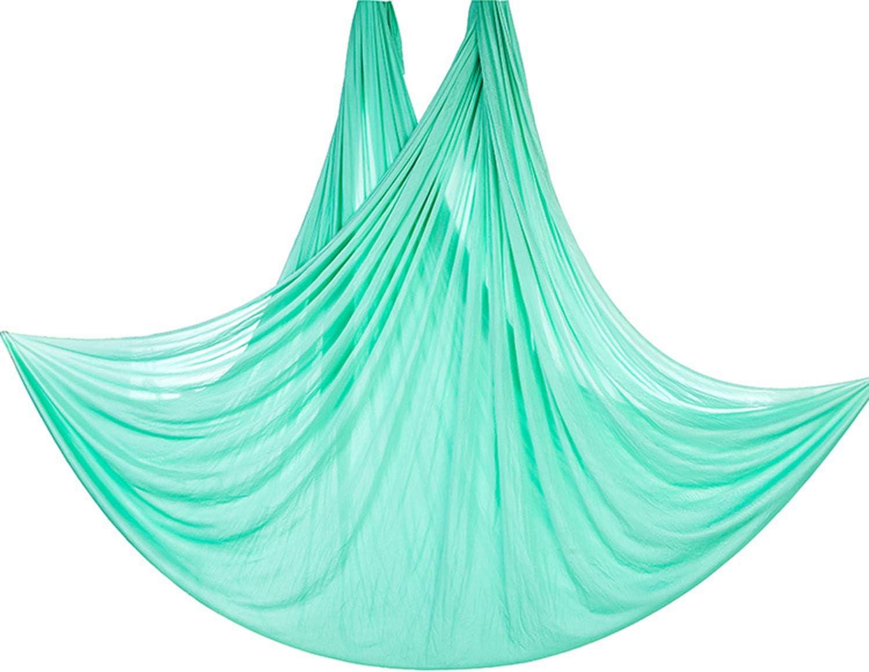 Un Sacco di Colori! JQJPJOSIE Yoga Yoga Elasticit/à Amaca Seta Coperta Anti-gravit/à Yoga Senza Nodi Contiene Fibbia e Corda di Sicurezza Testato e Certificato
