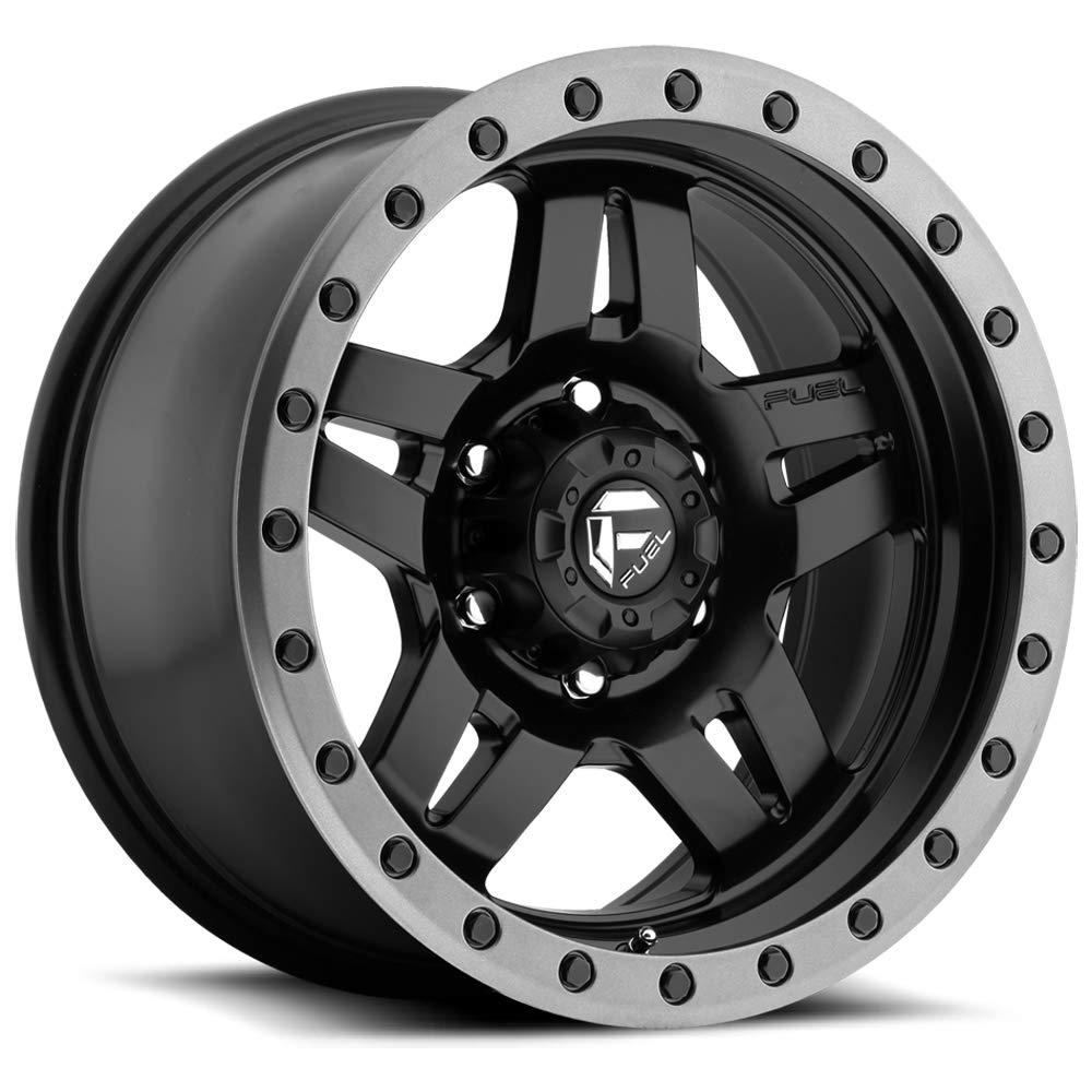 Fuel Offroad D557 Anza 17x8.5 5x139.7-6mm Black Wheel Rim