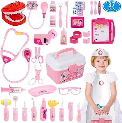 Juguetes Para Nena De Ano Y Medio.Amazon Com Gifts2u Kit De Juguetes Para Medicos Juguetes