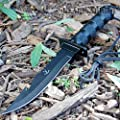"11"" Tactical Fishing Hunting Survival Kit Knife w/ Sheath Bowie Camping NEW"