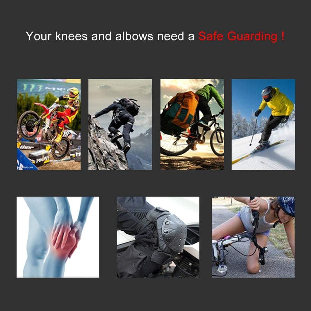VISLONE 1 par de Ciclismo Rodillera y Protectores de Codo ...