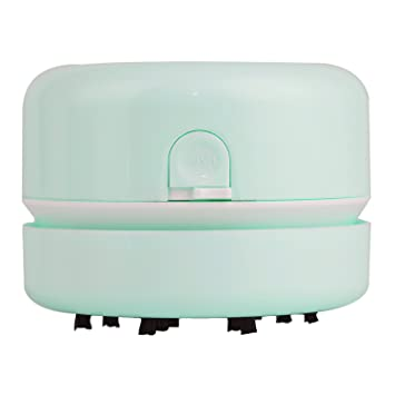 Perfect ShineMe Mini Table Dust Vacuum Cleaner Table Cleaning Assistance Keyboard  Cleaning Dust Vacuum (Green)