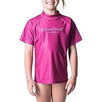 Rip Curl Girls' JNR Girl Rosewood S/SL, Pink