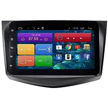 Generic pantalla táctil capacitiva de 9 pulgadas Android 4.4.4 Coche GPS estéreo para Toyota