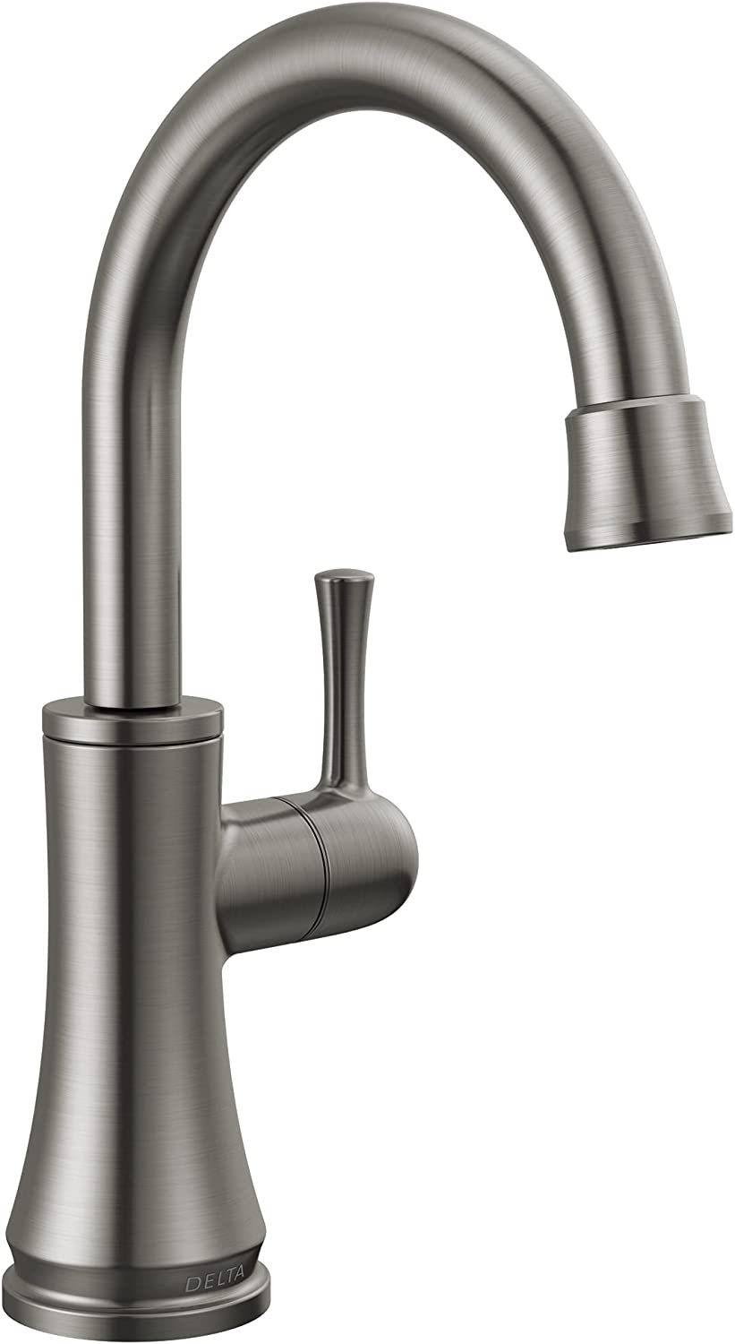 Delta Faucet 1920-KS-DST Traditional Beverage Faucet, Black Stainless