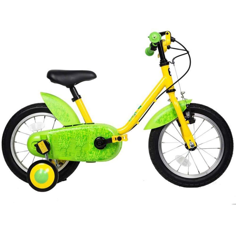 代引き手数料無料 YUMEIGE 子ども用自転車 : 14インチキッズバイク、子供用自転車トレーニングホイール付き35歳の男の子と女の子への贈り物 利用できるサイズ (色 : YUMEIGE (色 黄) 黄 B07QCX7KXR, 日本パール:d0c6c76c --- arianechie.dominiotemporario.com