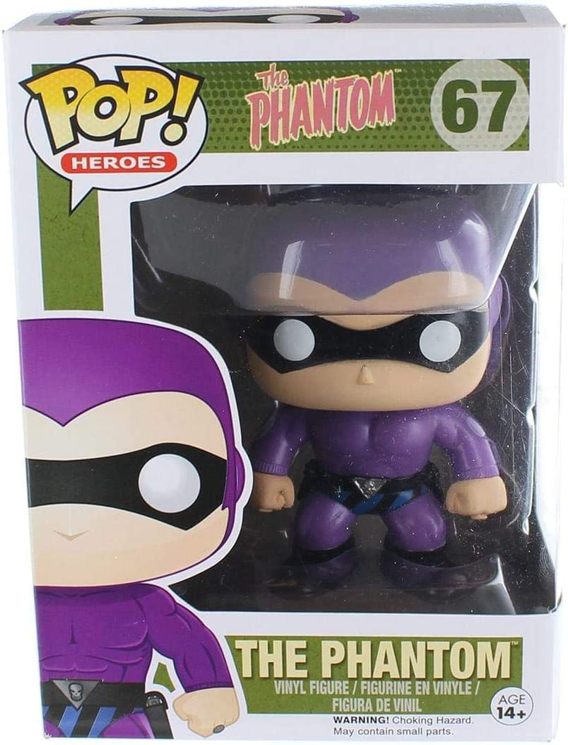 FunKo Free Shipping! The Phantom Vinyl Figure Ghost Who Walks Pop