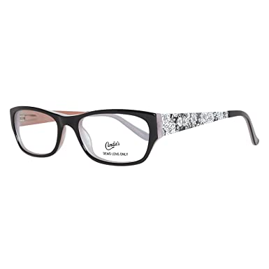 CANDIES Eyeglasses C CAITLIN Black Grey 50MM at Amazon Men\'s ...