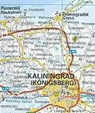 Estonia, Latvia, Lithuania & Kaliningrad 1:600,000