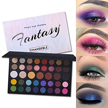 Beauty & Health Brand 39 Colors Shimmer Matte Eyeshadow Palette Pigmented Silky Eye Shadow Kit Makeup Lasting Smooth Nude Eyeshadow