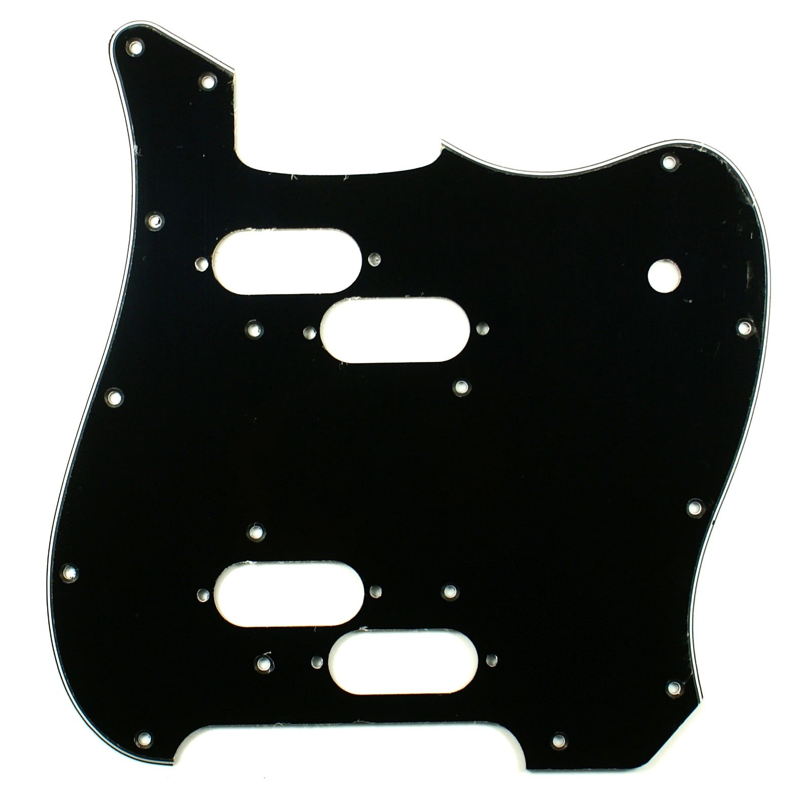 (E86) Custom Guitar Pickguard Fits Electric XII, 3ply Black
