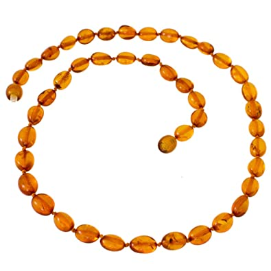 Genuine Baltic Amber Bead Necklace by Nickolas Jewellery fec0ae87c48c