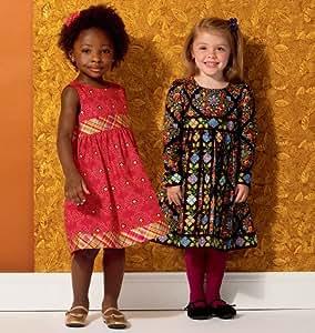Kwik Sew Sewing Pattern 0156 Ellie Mae Girl's Dress Sizes: One Size
