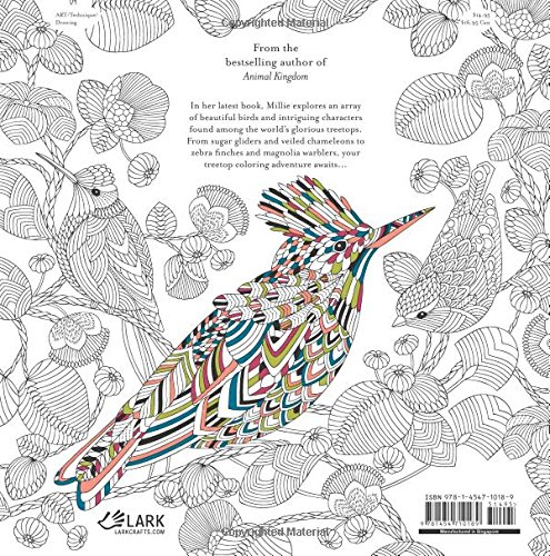 Amazon Beautiful Birds And Treetop Treasures A Millie Marotta Adult Coloring Book 9781454710189 Books