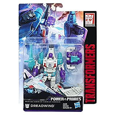 Transformers: Generations Power of the Primes Deluxe Class Dreadwind: Toys & Games