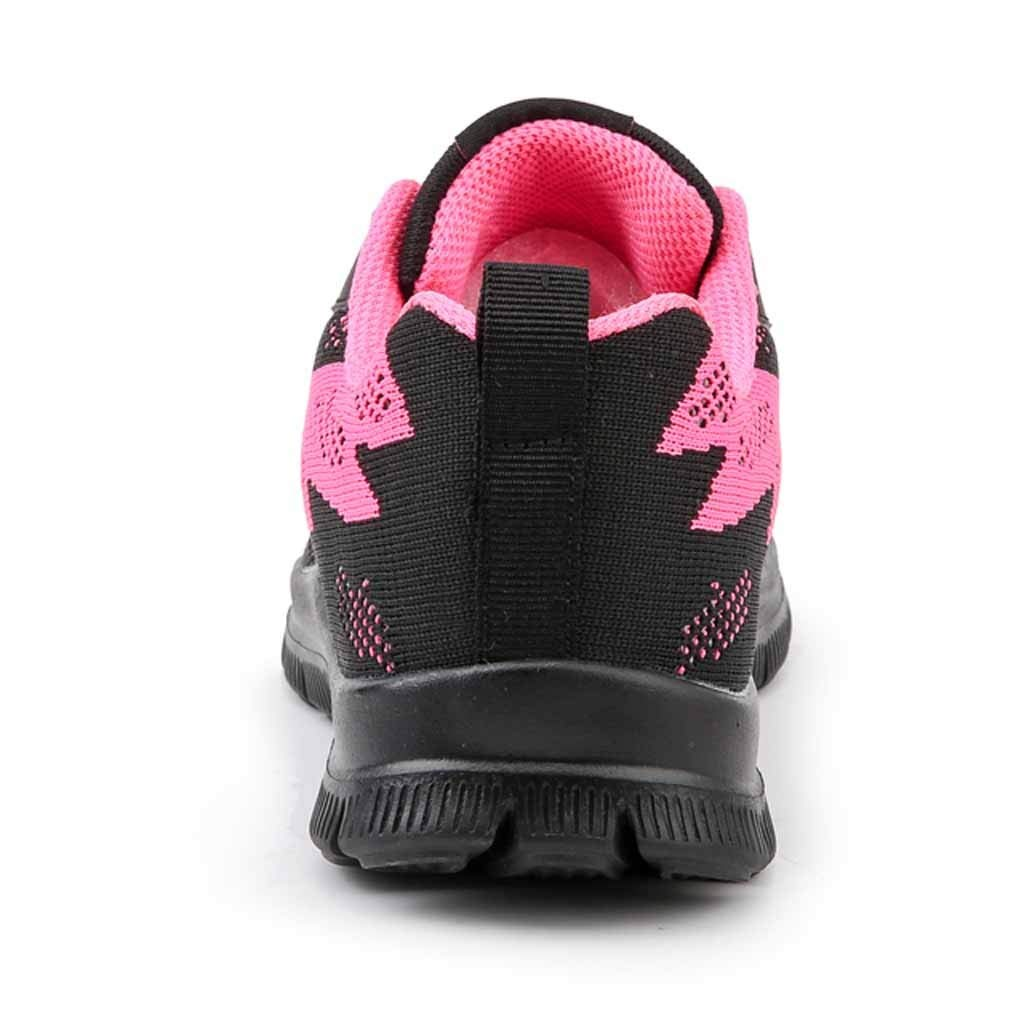 NEARTIME Women Sneakers Fashion Flying Weaving Casual Shoes Outdoor Walking Flats Lace-Up Basic Sports Shoes